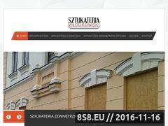 Miniaturka domeny www.sztukateriawlodkowski.pl