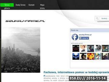 Zrzut strony Szukaj-firme.pl katalog firm, baza, wyszukiwarka
