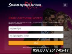 Miniaturka szukambogategopartnera.pl (Bogaty partner)