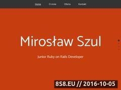 Miniaturka domeny www.szul.eu