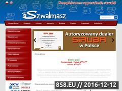 Miniaturka domeny www.szwalmasz.com.pl