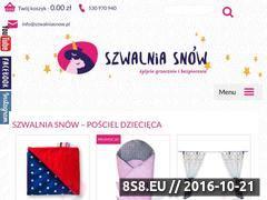 Miniaturka domeny szwalniasnow.pl