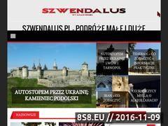 Miniaturka Blog podróżniczy (szwendalus.pl)