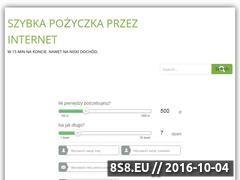 Miniaturka domeny szybkapozyczkaprzezinternet247.pl