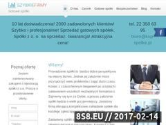 Miniaturka domeny szybkiefirmy.pl