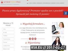 Miniaturka domeny szybkiepisanieprac.pl