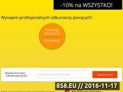 Miniaturka domeny www.szybkiepranie.pl