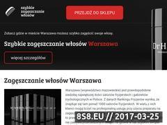 Miniaturka Zagęszczanie włosów Warszawa (szybkiezageszczaniewlosow.pl)