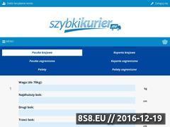 Miniaturka domeny www.szybkikurier.eu