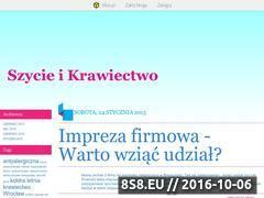 Miniaturka domeny szycieonline.blox.pl
