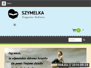 Zrzut strony Księgarnia internetowa dla dzieci
