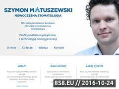 Miniaturka domeny szymonmatuszewski.pl