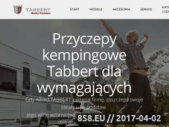 Miniaturka domeny tabbert.pl