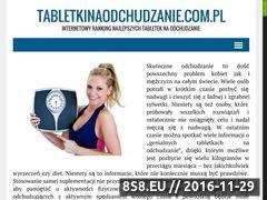 Miniaturka domeny tabletkiodchudzajace.biz.pl