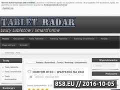 Miniaturka domeny www.tabletradar.pl