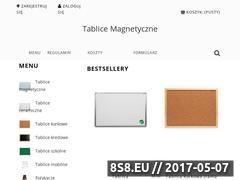 Miniaturka tablice-magnetyczne.com (Tablice magnetyczne)