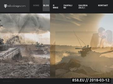 Zrzut strony TabOdesign.com - fotograf gdańsk, projektowanie stron www gdańsk
