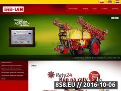 Miniaturka domeny www.tad-len.pl