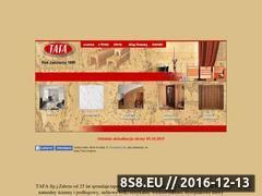 Miniaturka domeny www.tafa.pl