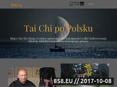 Miniaturka www.taijipopolsku.pl (Opisy, relacje z zajęć oraz inspiracje treningowe)