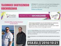 Miniaturka domeny www.tajemniceodchudzania.pl