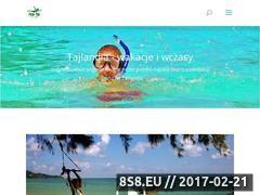 Miniaturka domeny www.tajlandiawakacje.pl