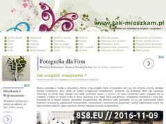 Miniaturka domeny www.tak-mieszkam.pl