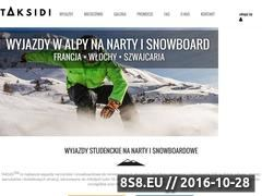 Miniaturka domeny www.taksidi.pl