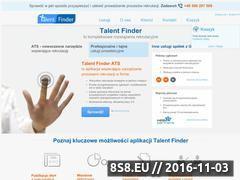 Miniaturka domeny www.talentfinder.pl