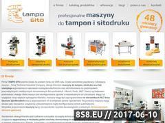Miniaturka domeny www.tamposito.pl