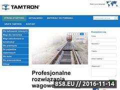 Miniaturka domeny www.tamtron.com.pl