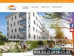 Miniaturka domeny www.tanga.pl