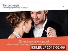 Miniaturka tangomagia.pl (Lekcje indywidualne i grupowe, pokazy tanga)
