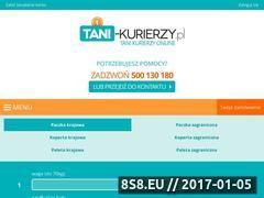 Miniaturka tani-kurierzy.pl (Tanie przesyłki kurierskie krajowe i zagraniczne)