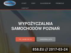 Miniaturka Wypożyczalnia samochodów Poznań (tania-wypozyczalnia.eu)