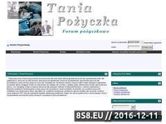 Miniaturka domeny www.taniapozyczka.com.pl