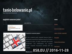Miniaturka domeny tanie-belowanie.pl
