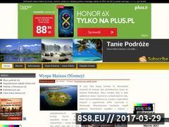 Miniaturka domeny tanie-podroze.cba.pl