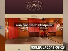Miniaturka taniec-szczecin.pl (Szkoła tańca)