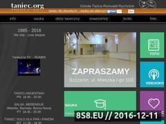Miniaturka domeny www.taniec.org