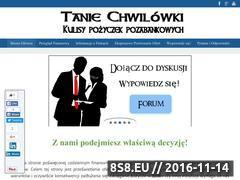 Miniaturka domeny taniechwilowki.com