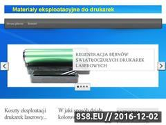 Miniaturka domeny www.taniedrukowanie.kalisz.pl