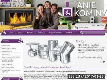 Zrzut strony Kominki Kratki.pl