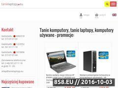 Miniaturka domeny www.tanielaptopy.eu