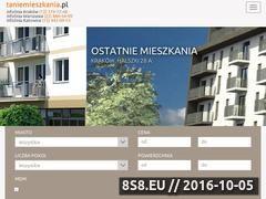 Miniaturka domeny www.taniemieszkania.pl