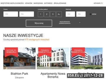 Zrzut strony Tanie mieszkania w Krakowie