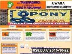 Miniaturka domeny www.tanienadruki.pl