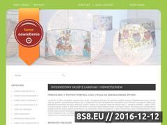 Miniaturka domeny www.tanieoswietlenie.pl