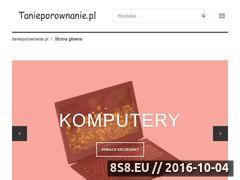Miniaturka domeny www.tanieporownanie.pl