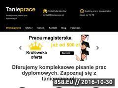 Miniaturka domeny www.tanieprace.pl